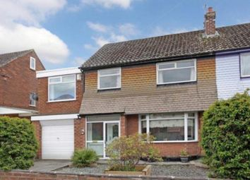 Thumbnail 4 bed semi-detached house for sale in Roslyn Avenue, Flixton, Urmston, Manchester