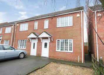 Thumbnail 3 bedroom semi-detached house for sale in Joy Paine Close, Boston