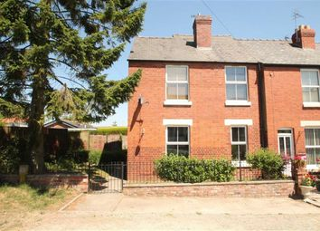 Thumbnail 3 bed end terrace house for sale in Fitzalan Road, Oswestry