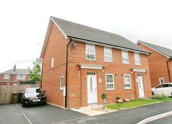 Thumbnail 3 bedroom semi-detached house for sale in Holden Drive, Pendlebury, Swinton, Manchester