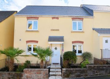 Thumbnail 3 bed semi-detached house for sale in Lady Beam Court, Kelly Bray, Callington