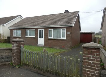 Thumbnail 3 bed detached bungalow for sale in Perthi Villa, Nebo, Llanon, Ceredigion