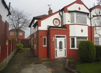 Thumbnail 3 bedroom semi-detached house for sale in Silverdale Avenue, Prestwich
