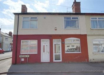 Thumbnail 3 bed end terrace house to rent in Watson Street, Warsop, Nottinghamshire
