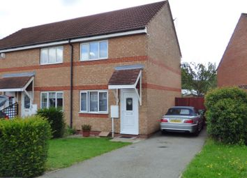 Thumbnail 2 bedroom town house for sale in Smart Close, Thorpe Astley