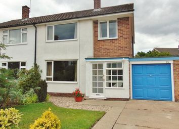 Thumbnail 3 bed semi-detached house to rent in Ashchurch Drive, Wollaton, Nottingham