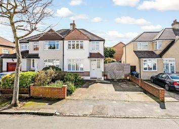 Thumbnail 3 bedroom semi-detached house to rent in Aldersmead Avenue, Shirley, Croydon