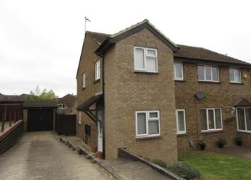 Thumbnail 3 bed semi-detached house to rent in Browning Drive, Hitchin