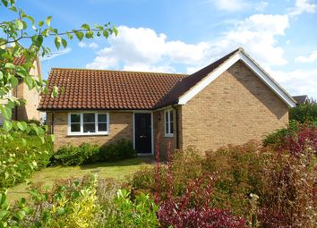 Thumbnail 3 bedroom detached bungalow for sale in Street Farm Close, Holywell Row, Bury St. Edmunds