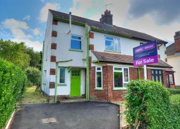 Thumbnail 3 bed semi-detached house for sale in George Borrow Road, Norwich