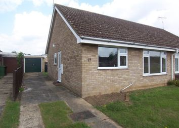 Thumbnail 2 bedroom semi-detached bungalow to rent in Admirals Way, Thetford