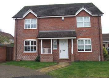 Thumbnail 4 bed detached house to rent in Borage Close, Thetford