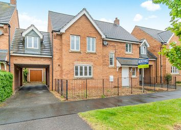 Thumbnail 5 bedroom link-detached house for sale in Leaf Avenue, Hampton Hargate, Peterborough