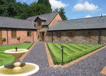 Thumbnail 3 bedroom barn conversion to rent in Pickering Court, Rhostyllen, Wrexham
