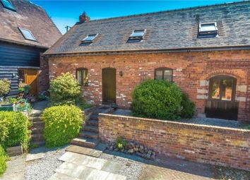 Thumbnail 3 bed mews house for sale in The Byre, 7 Rodington Court, Rodington, Shrewsbury, Shropshire