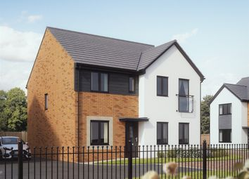 "Thumbnail 4 bedroom detached house for sale in ""The Mayfair"" at Bridge Road, Old St. Mellons, Cardiff"