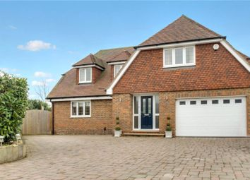 Thumbnail 4 bed detached house for sale in Old Hadlow Road, Tonbridge