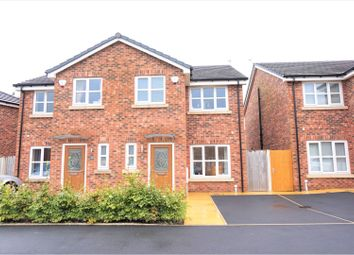 Thumbnail 3 bed semi-detached house for sale in John Hogan Close, Oldham