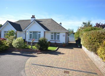 Thumbnail 2 bedroom semi-detached bungalow for sale in Yarde Close, Sidmouth, Devon