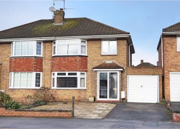 Thumbnail 3 bed semi-detached house for sale in Grange Drive, Swindon