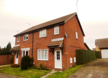 Thumbnail 3 bedroom semi-detached house for sale in Fieldfare Green, Luton