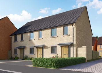 "Thumbnail 2 bedroom semi-detached house for sale in ""The Ashley A"" at Heron Road, Northstowe, Cambridge"