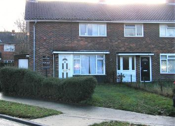 Thumbnail 3 bed end terrace house to rent in Latimer Close, Crawley, West Sussex