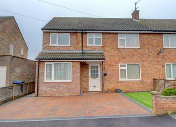 Thumbnail 4 bed semi-detached house for sale in Stuart Close, Godmanchester, Huntingdon