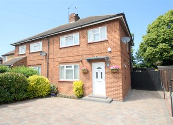Thumbnail 3 bedroom semi-detached house for sale in Mullens Road, Egham, Surrey