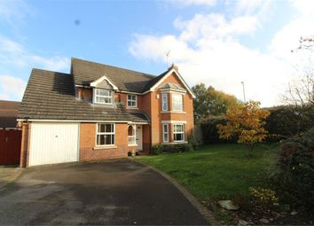Thumbnail 5 bed detached house for sale in Azalea Close, Lutterworth