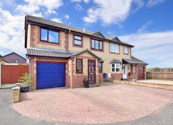 Thumbnail 4 bed semi-detached house for sale in Underwood, Hawkinge, Folkestone, Kent