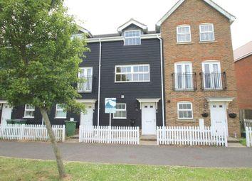 Thumbnail 3 bed terraced house for sale in Atkinson Road, Hawkinge, Folkestone