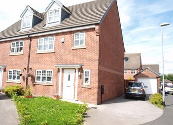Thumbnail 4 bed semi-detached house for sale in 37 Coppy Bridge Drive, Firgrove, Rochdale