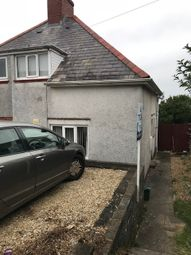 Thumbnail 2 bed semi-detached house to rent in Goronwy Road, Swansea