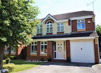 Thumbnail 4 bed detached house for sale in Powell Gardens, Worksop