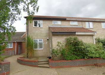 Thumbnail 2 bedroom end terrace house for sale in Village Way, Lowestoft