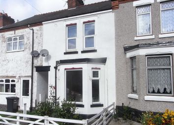 Thumbnail 3 bedroom terraced house to rent in Clarendon Road, Hinckley