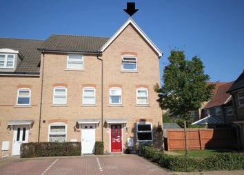 Thumbnail Town house for sale in Dobede Way, Soham, Ely