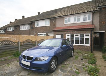 Thumbnail 3 bed terraced house to rent in Montgomery Crescent, Romford, London