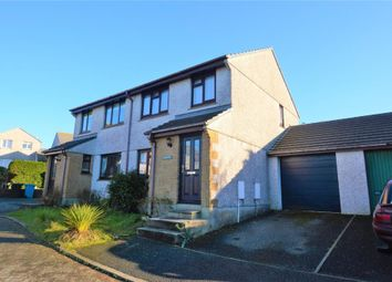 Thumbnail 3 bed semi-detached house for sale in Gwarth An Drae, Helston, Cornwall