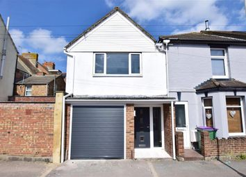 Thumbnail 3 bed end terrace house for sale in Albion Road, Folkestone, Kent