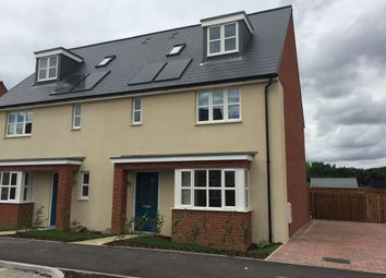 Thumbnail 4 bed semi-detached house for sale in Off Of Illustrious, Brooklands, Milton Keynes