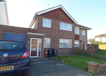 Thumbnail 3 bed semi-detached house for sale in Heath Drive, Ware
