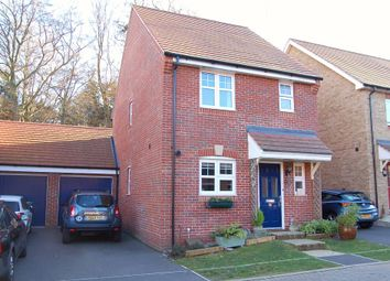Thumbnail 3 bed detached house for sale in Gomer Road, Bagshot