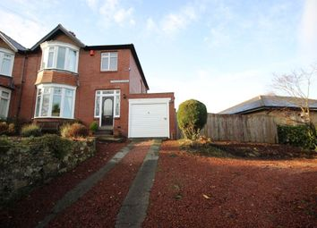 Thumbnail 3 bed semi-detached house for sale in The Dunterns, Alnwick