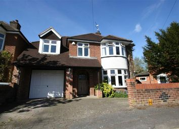 Thumbnail 5 bed detached house to rent in Paddock Road, Newbury
