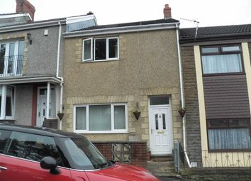 Thumbnail 3 bedroom terraced house for sale in St. Illtyds Crescent, St. Thomas, Swansea