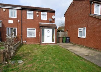 Thumbnail 3 bedroom semi-detached house for sale in Swallow Close, Luton