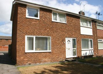 Thumbnail 3 bed end terrace house to rent in Essex Close, Ashington, Northumberland