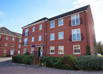 Thumbnail 2 bed flat for sale in Box Close, Swadlincote